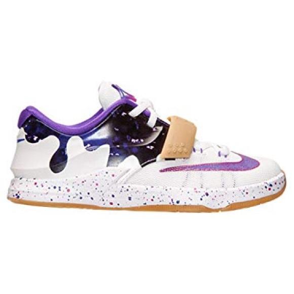 83245b2f2ae Nike KD 7 GS Size 1Y Peanut Butter Jelly. M 5c297237c9bf505eca7a43fa